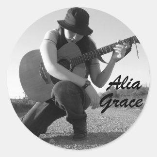 Alia Grace Stickers
