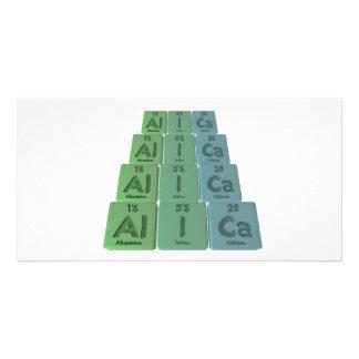 Alica as Aluminium Iodine Calcium Picture Card
