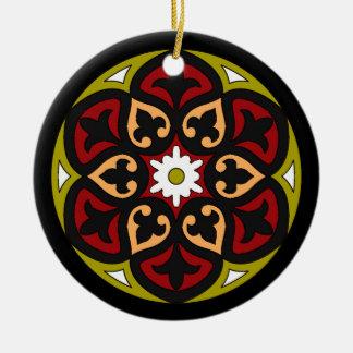 Alicante Round Ceramic Decoration