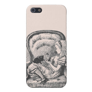Alice and Dinah Case in Peach iPhone 5/5S Cases