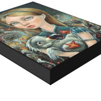 Alice and Dodo Canvas Print