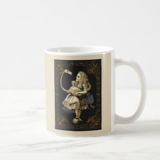 Alice and Flamingo Alice in Wonderland Mug