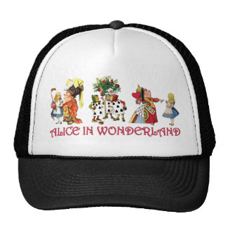 ALICE AND HER FRIENDS FROM WONDERLAND CAP