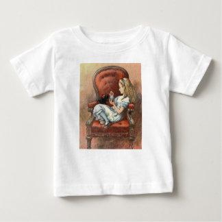 Alice and her Kitten Baby T-Shirt