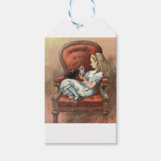 Alice and her Kitten Gift Tags