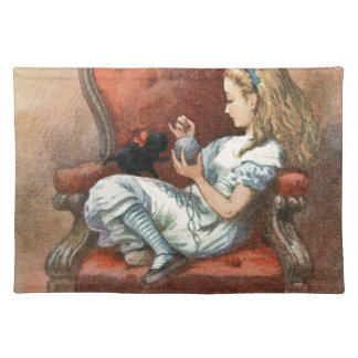 Alice and her Kitten Placemat
