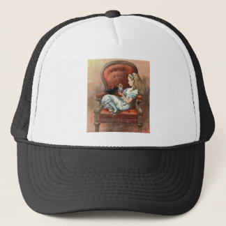Alice and her Kitten Trucker Hat