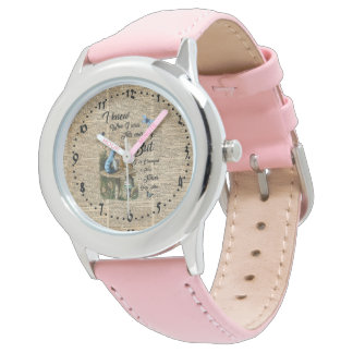 Alice and Jin Quote Vintage Dictionary Art Watch