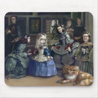 Alice and Las Meninas Mousepad