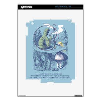 Alice and the Caterpillar iPad2 Skin Skins For The iPad 2