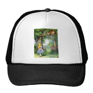 ALICE AND THE CHESHIRE CAT CAP