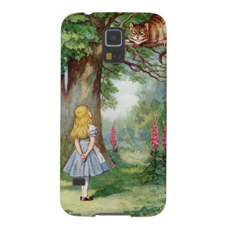 Alice and the Cheshire Cat Cases For Galaxy S5