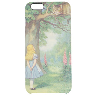 Alice and the Cheshire Cat Clear iPhone 6 Plus Case