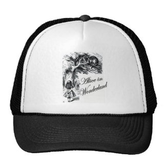 Alice and the Cheshire Cat Mesh Hat