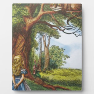 Alice and the Cheshire Cat Plaques