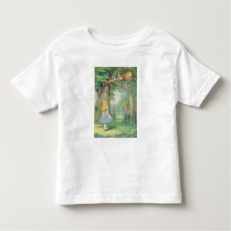 Alice and the Cheshire Cat Tee Shirt