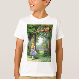 ALICE AND THE CHESHIRE CAT TEES