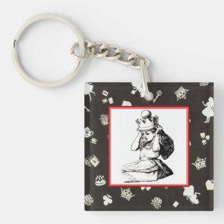 Alice and the Crown 2 Key Ring