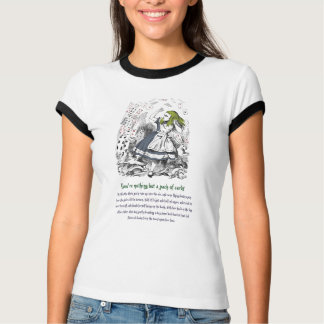 Alice and the Deck of Cards T-Shirt