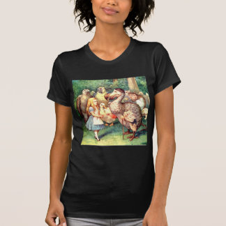 Alice and the Dodo Bird at the Caucus Race T-Shirt