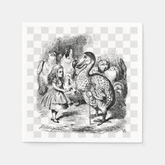 Alice and the Dodo Disposable Napkin