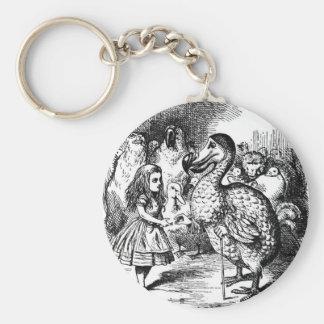 Alice and the Dodo Key Ring