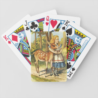 Alice and the Fawn Bicycle Playing Cards