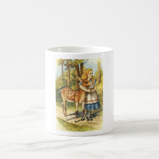 Alice and the Fawn Coffee Mug