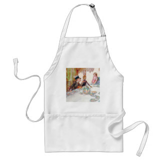 Alice and the Mad Hatter's Tea Party Apron