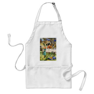 Alice and the Mad Hatter's Tea Party Standard Apron