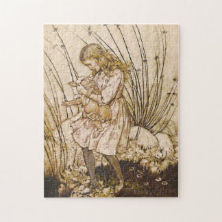 Alice and the Pig Baby 1 Jigsaw Puzzle