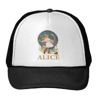 ALICE AND THE PINK FLAMINGO PLAY CROQUET CAP