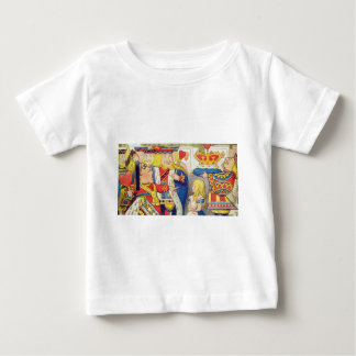Alice and the Queen of Hearts Baby T-Shirt