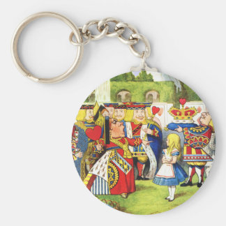 ALICE AND THE QUEEN OF HEARTS KEY RING