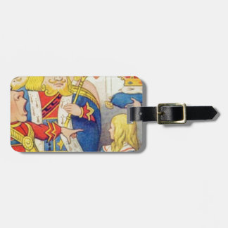 Alice and the Queen of Hearts Luggage Tag