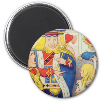 Alice and the Queen of Hearts Magnet