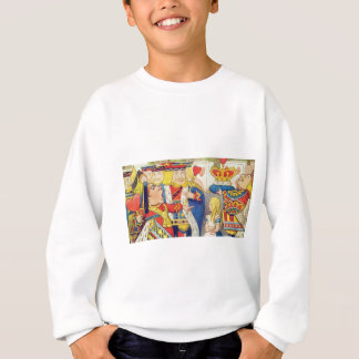 Alice and the Queen of Hearts Sweatshirt