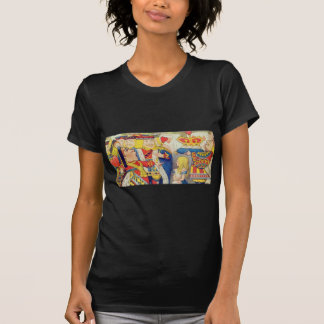 Alice and the Queen of Hearts T-Shirt