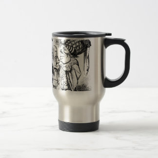 Alice and the Red Queen Travel Mug