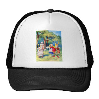 ALICE AND THE WHITE KING CAP