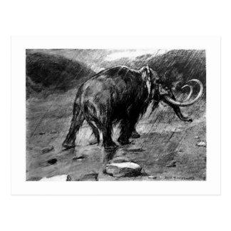 Alice B. Woodward: Mammoth art postcard
