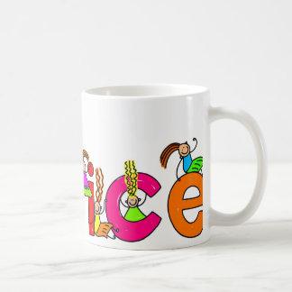 Alice Basic White Mug