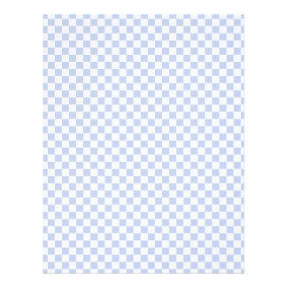 Alice Blue Checkerboard in English Country Garden 21.5 Cm X 28 Cm Flyer