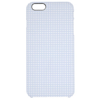 Alice Blue Lattice in an English Country Garden Clear iPhone 6 Plus Case
