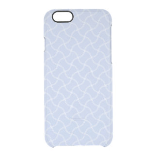 Alice Blue Mini Footpath in English Country Garden Clear iPhone 6/6S Case