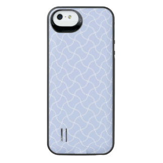 Alice Blue Mini Footpath in English Country Garden iPhone SE/5/5s Battery Case