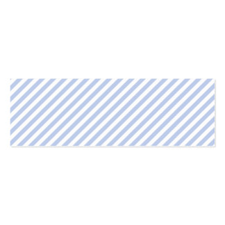 Alice Blue Pinstripe in English Country Garden Pack Of Skinny Business Cards