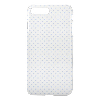 Alice Blue Polka Hearts in English Country Garden iPhone 7 Plus Case