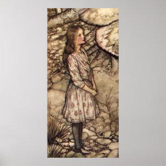 Alice by Arthur Rackham Poster