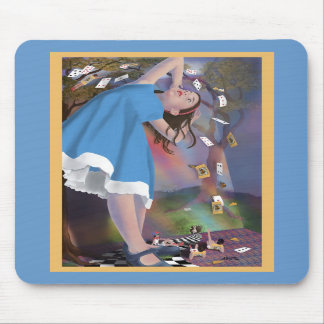 Alice Cards Mousepad